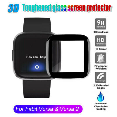 $ CDN1.89 • Buy Film Soft Fibre Glass Screen Protector Guard Cover For Fitbit Versa&Versa 2