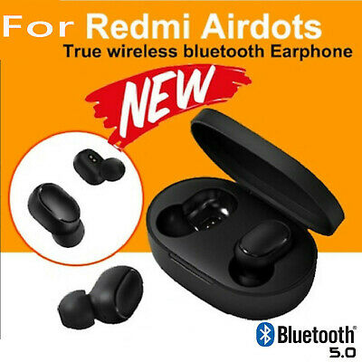 $8.99 • Buy NEW For XIAOMI Redmi AIRDOTS WIRELESS EARPHONE W/ CHARGER BOX Bluetooth 5.0