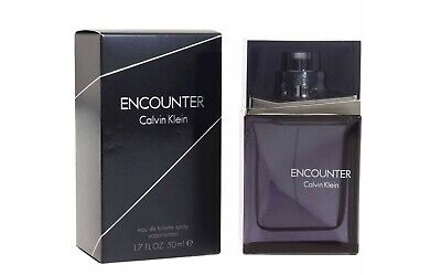 £40.32 • Buy CALVIN KLEIN ENCOUTER Eau De Toilette Profumo Fragranza Spray Uomo 50 Ml
