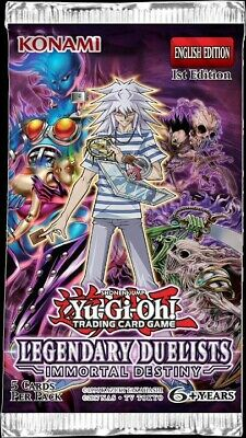 50% Off 5+ Yugioh LED5 Legendary Duelists: Immortal Destiny  • 0.99£