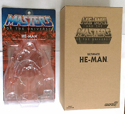 $20 • Buy He-man Box & Cardback Only #2 • Super 7 • Masters Of The Universe