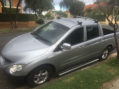 AU2 • Buy Wrecking Ssangyong Actyon Sports A200s,4wd,2.0 Diesel Dual Cab,4 Speed Automatic