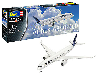 AIRBUS A350-900 (Lufthansa New Livery)  REVELL 1/144 PLASTIC KIT • 24.28£