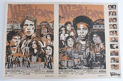The Warriors Mondo Poster By Tyler Stout Limited Edition Screen Print • 400£