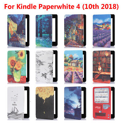 AU15.90 • Buy Shell Smart Case E-Reader Cover For Amazon Kindle Paperwhite 4 10th Gen 2018
