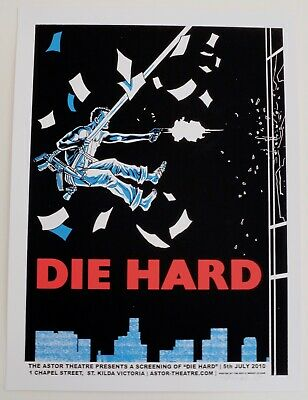 Die Hard Mondo Poster By Tim Doyle Limited Edition Screen Print • 150£