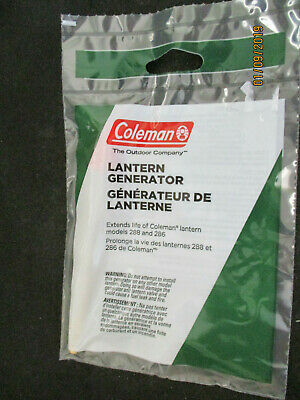 $17.99 • Buy Coleman Lantern Generator For 288 And 286 Lanterns ~ Genuine Parts New In Pack