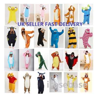 Unisex Adult Animal Onsie88Onesie12 Anime Cosplay Pyjama Kigurumi Fancy Dress UK • 22.99£