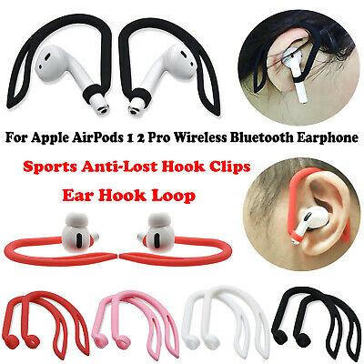 $ CDN4.47 • Buy Silicone Ear Hook Loop Anti-Lost Hook Clips For Apple AirPods 1 2 Pro Earphone
