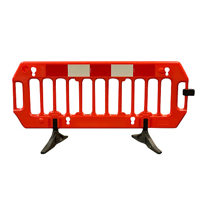 Premium Chapter 8 Road Traffic Barrier - 2 Meter With Clips - BRAND NEW • 49.99£