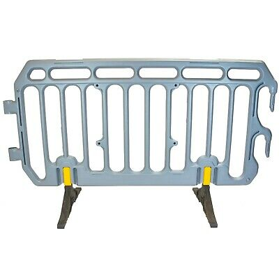 Crowd Control Barrier Plastic 2m Pedestrian Traffic & Event Management Barriers  • 38.99£