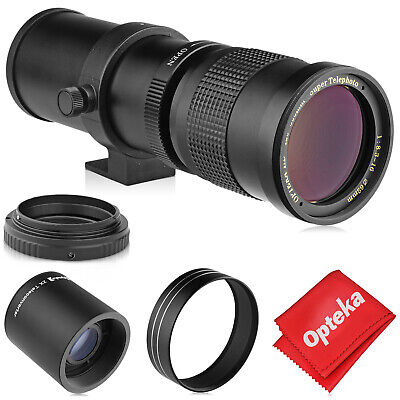 $99.97 • Buy Opteka 420-1600mm Telephoto Zoom Lens For Olympus M43 Micro Four Thirds Mount