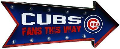 Chicago Cubs Arrow Light Up Marquee Sign 18  • 39.99$