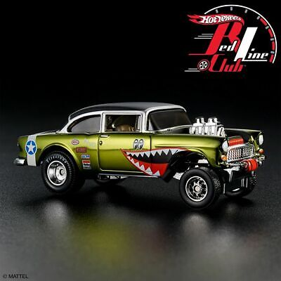 2019 Hot Wheels RLC Exclusive WWII '55 Chevy Gasser Flying Tigers CONFIRMED • 139.99$