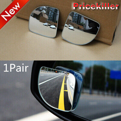 $ CDN7.81 • Buy Car Wind-angle Adjustable Convex Blind Spot Mirror Side Rearview Security Parts
