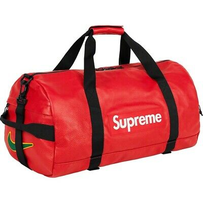 $ CDN845.91 • Buy BRAND NEW Supreme Nike Leather Duffle Bag