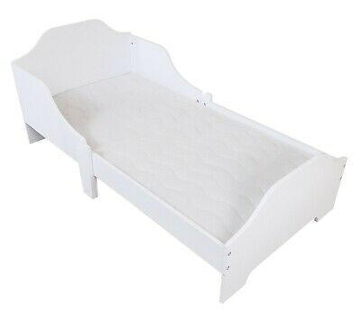 Kiddi Style Childrens Kids Wooden Junior Toddler Cot Bed Bedroom Furniture - NEW • 69.99£
