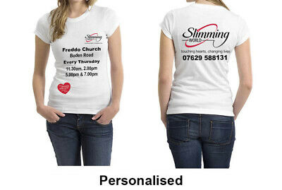 Slim World T Shirts Gift Business Men Women Cloths Top Personalised Available • 12.99£