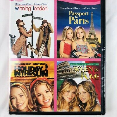 £15.92 • Buy Winning London/Holiday In The Sun/Passport To Paris/When In Rome DVD Olsen Twins