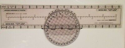 Jeppesen PJ-1 Plotter (For Use With All WAC And Sectional Charts) • 25$