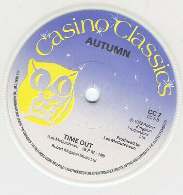 £9 • Buy Autumn Time Out Casino Classics CC7 Soul Northern Unplayed Old Store Stock
