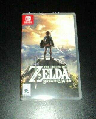 The Legend Of Zelda Breath Of The Wild For Nintendo Switch - BRAND NEW & SEALED! • 47.90$