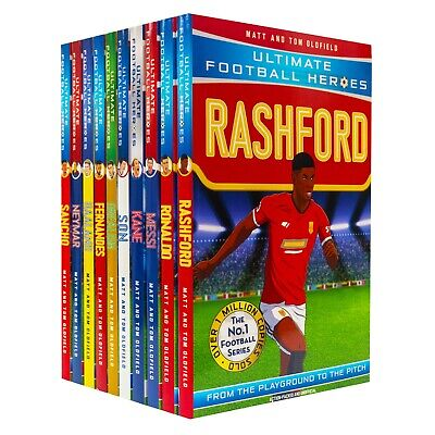 £19.87 • Buy Ultimate Football Heroes Series 2 Non Fiction 10 Children Books By- Tom Oldfield