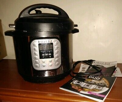 $59.50 • Buy Instant Pot DUO60 6 Qt Multi-Use Programmable Pressure Slow Cooker Never Used