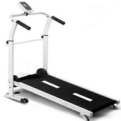 AU130 • Buy New Foldable Home-Used  Manual Treadmill With Computer