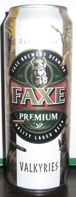 $ CDN4.64 • Buy NEWEST! Beer Can - Faxe Premium - 450 Ml - 2019 - Russia - Norse Gods #1