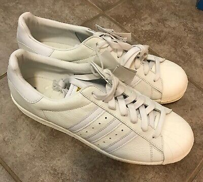 $ CDN99.99 • Buy Adidas Mens Superstar Boost Originals Vintage Sample White BB0187 Sz 9