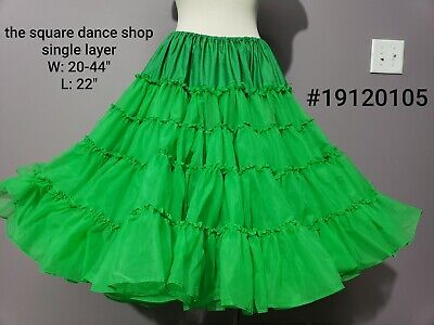 Gorgeous Green Christmas Petticoat Crinoline By The Square Dance Shop • 13$
