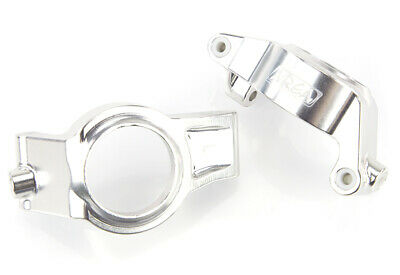 AU110.53 • Buy Area RC Silver Aluminium X-Maxx Front Hub Carrier Set