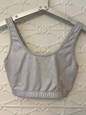 Victoria Secret Pink Crop Sports Bra Small • 4.60$