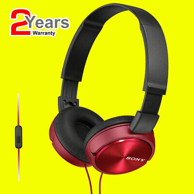 Sony MDRZX310AP/RED  Headphones Foldable Stereo Headset Earphones For Music RED • 17.95£