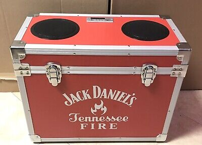 £396.57 • Buy RARE!! / Jack Daniels Tennessee Fire Cooler Stereo / BT / FM & Direct Plug / Red