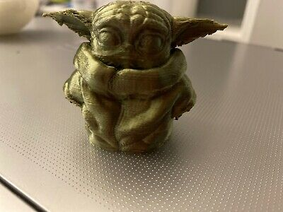 $15 • Buy Christmas Ornament Cute Baby Yoda From Mandalorian Paintable