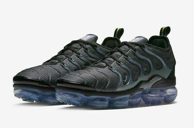 Nike Air Vapormax Plus Running Shoes Black Gray Violet 924453-014 Men's NWOB • 116.99$