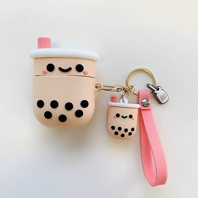 $ CDN10.85 • Buy Bubble Milk Tea Pendant Airpods Protect Case Cover For Apple AirPods Pro Earbud