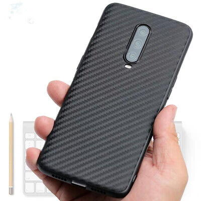 AU3.22 • Buy For OnePlus 7 7T Pro 6 6T 5T Shockproof Carbon Fibrer Slim Silicone Case Cover