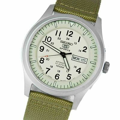 $ CDN185.67 • Buy LEGIT Seiko 5 Sports Military 23 Jewels Analog Automatic Watches SNZG07J1 SNZG07
