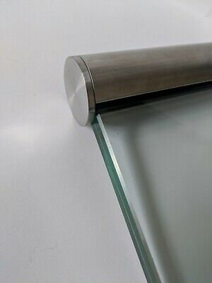 $50.85 • Buy Stainless Steel Slotted Handrail (for Glass Balustrade) - 42mm Dia JUST £36p/m