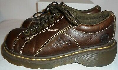 Dr. Martens, Ladies Brown Leather Oxford, Size  8 M, • 14.95$