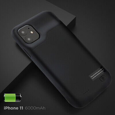 AU55.09 • Buy 6000mAh 6.1  Backup Battery Charger Case External Power Bank For Apple IPhone 11