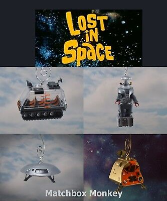 AU49.61 • Buy Lost In Space Vintage Sci-Fi TV Show Jupiter B-9 Pod Chariot Christmas Ornament