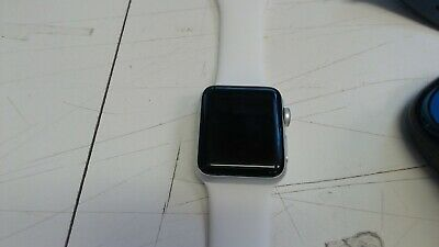 $ CDN210.32 • Buy Apple Watch Series 3 38mm Stainless Steel Case With White Sport Band  *DEFECTIVE