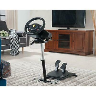 Adjustable Gaming Steering Wheel Stand For Xbox One, PS4, And PC Folding Sturdy • 85.99$