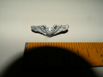 Vintage Wwii Usaf Pilot Wings Small Pin Sterling Look Nr  • 9.99$