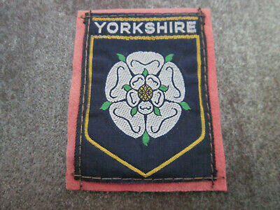 £3.99 • Buy Yorkshire Woven Cloth Patch Badge (L5S)
