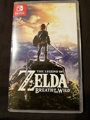 Legend Of Zelda: Breath Of The Wild Nintendo Switch Exc Cond!! Free Shipping! • 44$